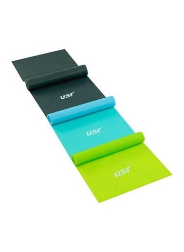 Usr USR 3'lü Çok Renkli Pilates Bant Seti Renkli